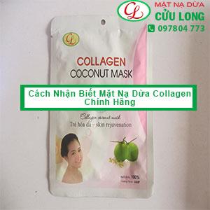 Cách Nhận Biết Mặt Nạ Dừa Cửu Long Collagen