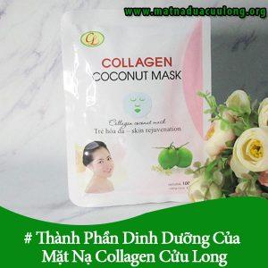 Thành Phần Dinh Dưỡng Của Mặt Nạ Collagen Cửu Long